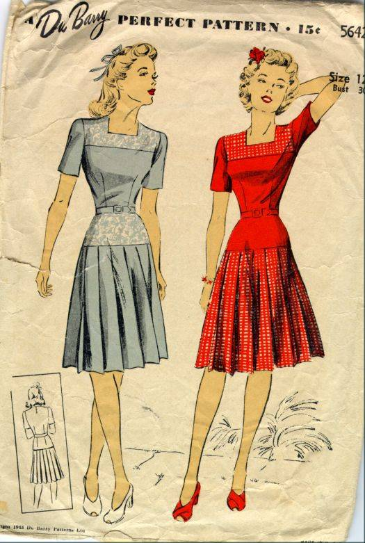 How Clothes Rationing Affected Fashion 60
